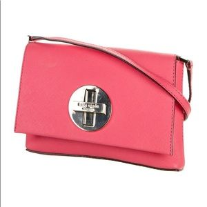 KATE SPADE Sally Newbury Lane coral crossbody